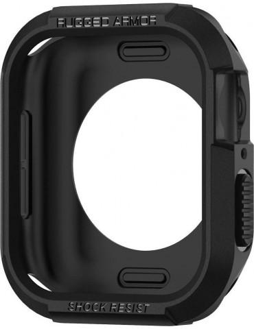 Spigen Rugged Armor Θήκη για Apple Watch Series 6 / 5 / 4 / SE (44mm)  - Black