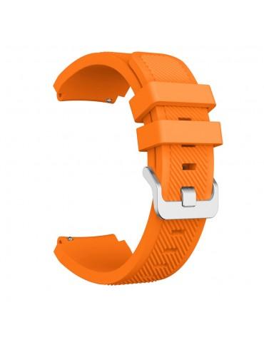 Twill texture λουράκι σιλικόνης για το Huawei Watch GT/GT 2 (46mm)/ GT 2e /GT Active/Honor Magic/Watch 2 Classic- Orange