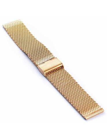Λουράκι Milanese Μεταλλικό GOLD Για Το Galaxy Watch 46mm/GEAR S3 CLASSIC / FRONTIER / Watch 3 (45mm