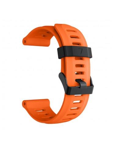 Ανταλλακτικό λουράκι σιλικόνης πορτοκαλί για Garmin Fenix 3/5x/3HR/5X Plus OEM