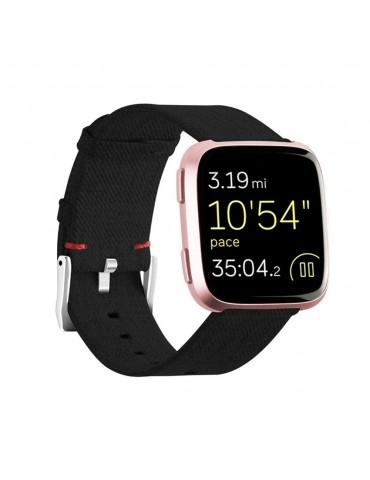 Υφασμάτινο λουράκι Huawei Watch GT/GT 2 (46mm)/ GT 2e /GT Active/Honor Magic/Watch 2 Classic- Black