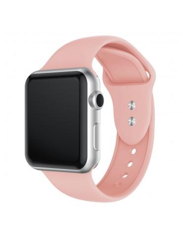 Λουράκι Σιλικόνης Baby pink (Apple Watch 42/44mm) OEM
