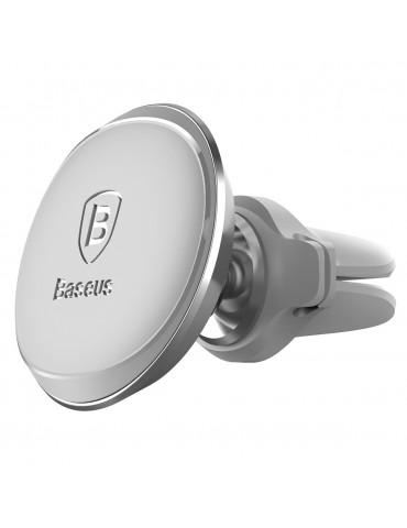 Βάση Αυτοκινήτου Αεραγωγού Baseus Magnetic Air Vent SUGX-A0S Silver