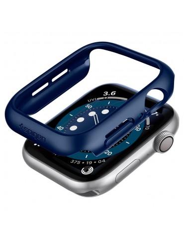 Spigen Thin Fit Θήκη για Apple Watch Series 6 / 5 / 4 / SE (44mm)  -Metallic Blue