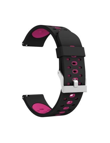 Λουράκι σιλικόνης για το HiFuture HiGear  - Black/Pink