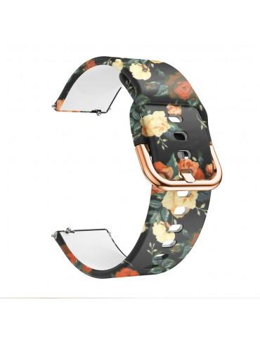 Λουράκι σιλικόνης Για Το HiFuture HiGear - Flowers Orange