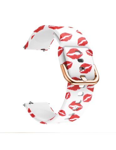 Λουράκι σιλικόνης Για Το  HiFuture HiGear -OEM Red Lip