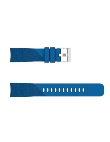 Twill Texture λουράκι σιλικόνης για το HiFuture HiGear -Dark Blue