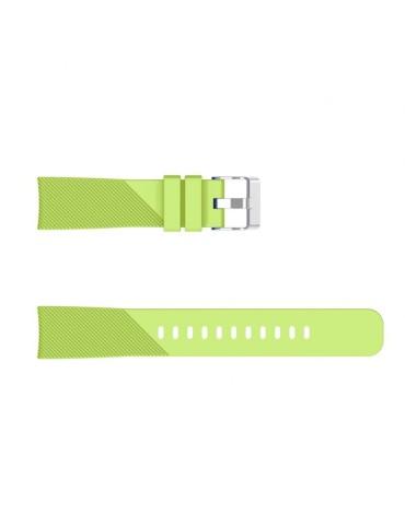 Twill Texture λουράκι σιλικόνης για το HiFuture HiGear - Green