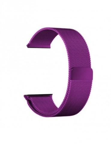 Milanese μεταλλικό λουράκι με μαγνητικό κλείσιμο Για Το -HiFuture HiGear Purple