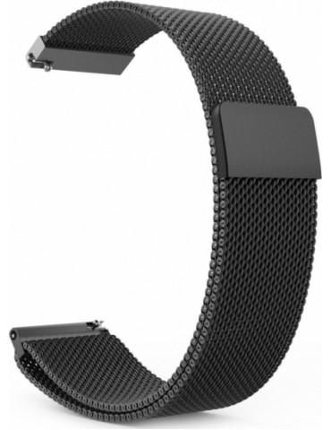 Milanese Μεταλλικό Μαύρο με μαγνητικό κλείσιμο Για Το HiFuture HiGear