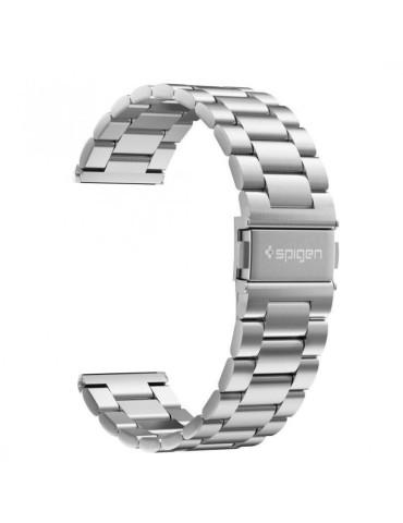 Spigen Modern Fit Λουράκι Stainless Steel για το Xiaomi Mi Watch  - Silver