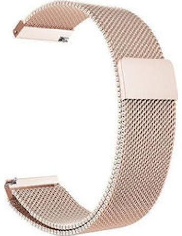 Stainless Steel Milanese λουράκι με μαγνητικό κλείσιμο Για Το Ηifuture Higear- Rose Gold OEM