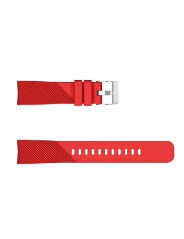 Twill Texture Λουράκι σιλικόνης Για Το Amazfit GTS 2e (43mm)/GTS 2 (43mm)/GTS 2 mini OEM Red
