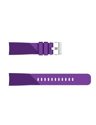 Twill Texture Λουράκι σιλικόνης για το  HiFuture HiGear - Purple