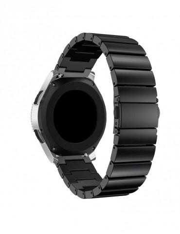 Λουράκι stainless steel bracelet με butterfly buckle για το  Xiaomi Mi Watch- Black