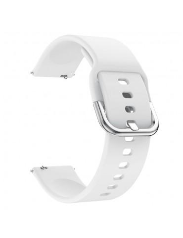 Λουράκι σιλικόνης Για Το  Xiaomi Mi Watch  - Λευκό