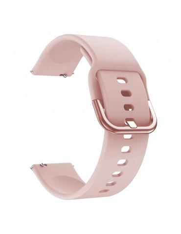 Λουράκι σιλικόνης Για Το  Xiaomi Mi Watch - Ροζ