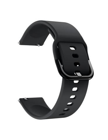 Λουράκι σιλικόνης Για Το  Xiaomi Mi Watch -Black