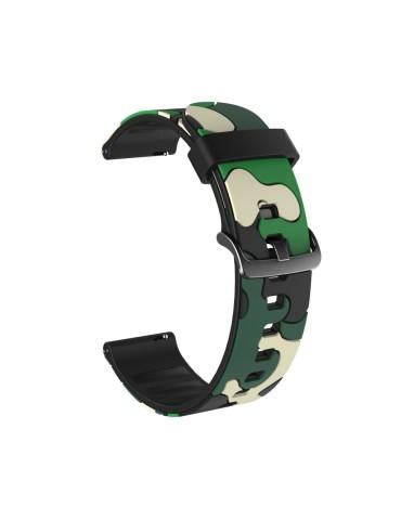 Λουράκι σιλικόνης Για Το HiFuture HiGear  - Army Green