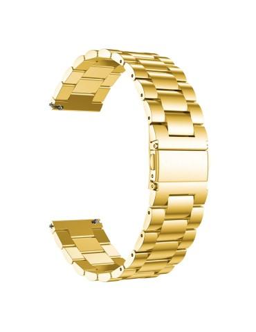 Μεταλλικό λουράκι stainless steel Για Το HiFuture HiGear  -  Gold