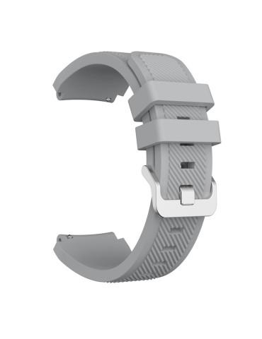 Twill Texture Λουράκι σιλικόνης Για Το  Xiaomi Mi Watch -Grey