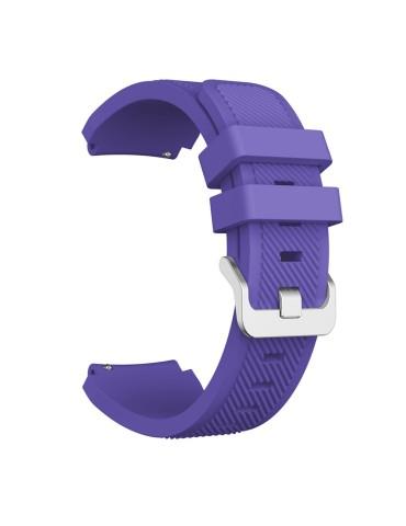 Twill Texture Λουράκι σιλικόνης Για Το  Xiaomi Mi Watch - Purple