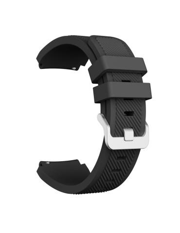 Twill Texture Λουράκι σιλικόνης Για Το Xiaomi Mi Watch- Black