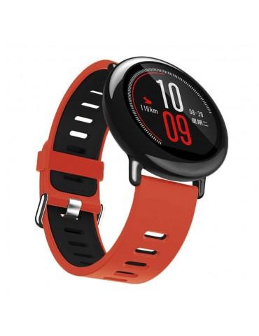 Λουράκι σιλικόνης για το  Xiaomi Mi Watch - Red / Black