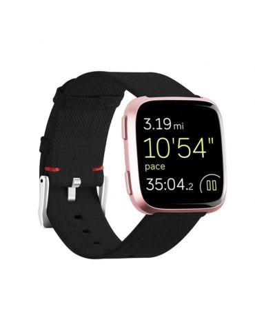 Υφασμάτινο λουράκι για το  Xiaomi Mi Watch  - Black