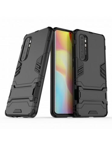 Θήκη Πλάτης Armor με Kickstand για το Xiaomi Mi Note 10 Lite - Black