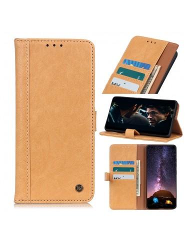 Δερμάτινη Θήκη- wallet με μαγνητικό κλείσιμο για το XIAOMI MI 10 Lite - ΚΑΦΕ