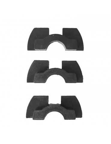 XIAOMI TWELVE Επιθέματα Βάσης 3PAD σετ για XIAOMI ELECTRIC SCOOTER M365 - BLACK
