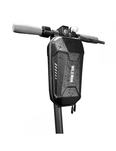 TECH PROTECT WILDMAN αδιάβροχη τσάντα ELECTRIC SCOOTER HARDPOUCH L για Xiaomi M365 or M365 Pro - ΜΑΥΡΟ