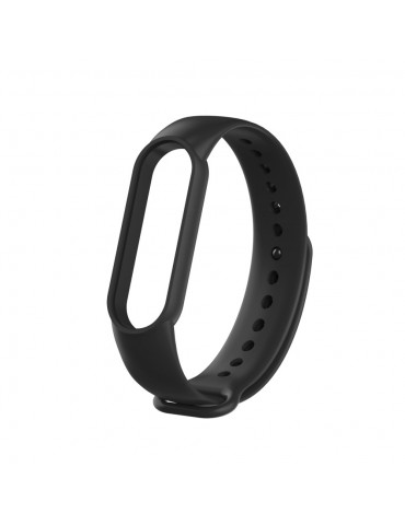 Λουράκι σιλικόνης για το Xiaomi Mi Band 5 - Black