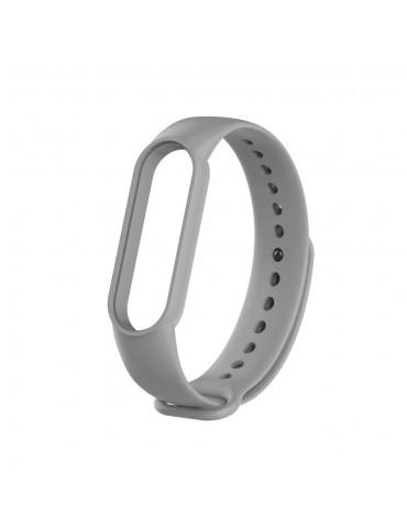 Λουράκι σιλικόνης για το Xiaomi Mi Band 5 - Grey