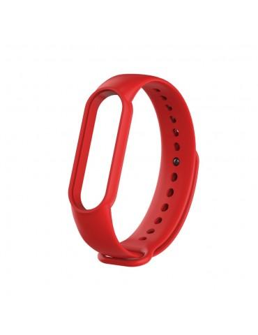 Λουράκι σιλικόνης για το Xiaomi Mi Band 5 - Red