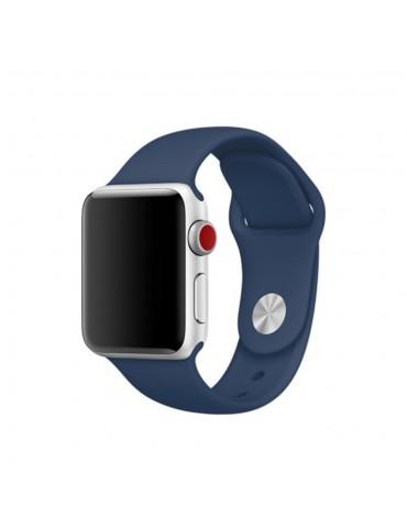Λουράκι Σιλικόνης Σκούρο μπλε (Apple Watch 42/44mm)