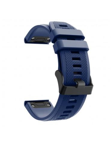 Λουράκι Σιλικόνης Για Garmin Fenix 5/5 Plus/6/6 Pro/Forerunner 935/945/Quatix 5/Instinct OEM - Dark Blue