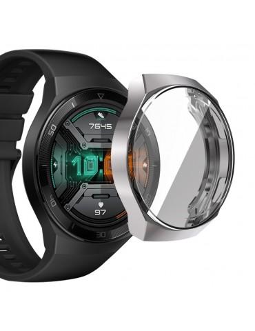 Θήκη προστασίας με ενσωματωμένη προστασία οθόνης για το Huawei Watch GT 2e - Silver