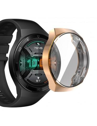 Θήκη προστασίας με ενσωματωμένη προστασία οθόνης για το Huawei Watch GT 2e  - Rose Gold