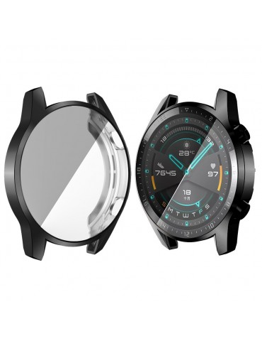 Εύκαμπτη θήκη προστασίας με ενσωματωμένη προστασίας για το Huawei Watch GT 2 46mm - Black