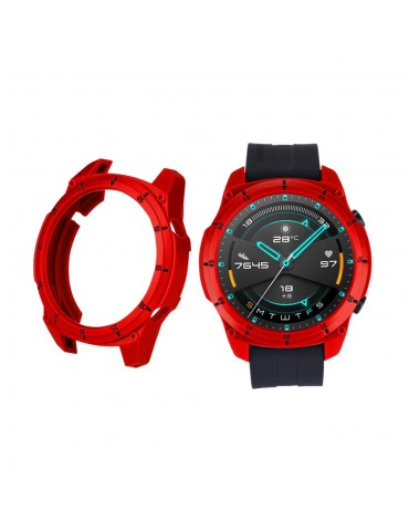Σκληρή θήκη σιλικόνης με αρίθμηση για το Huawei Watch GT 2 46mm - Red/Black