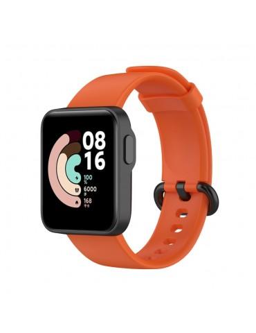 Λουράκι σιλικόνης για το Mi Watch Lite - Orange