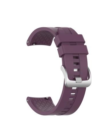 Λουράκι σιλικόνης hexagon για το  Amazfit GTR 47mm- Purple