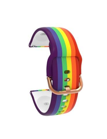 Λουράκι σιλικόνης για το  Amazfit GTR 47mm-- Rainbow