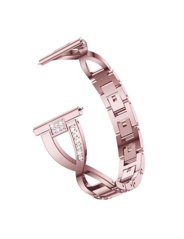 Μεταλλικό λουράκι Diamond Pattern Για Το HiFuture HiGear- Pink