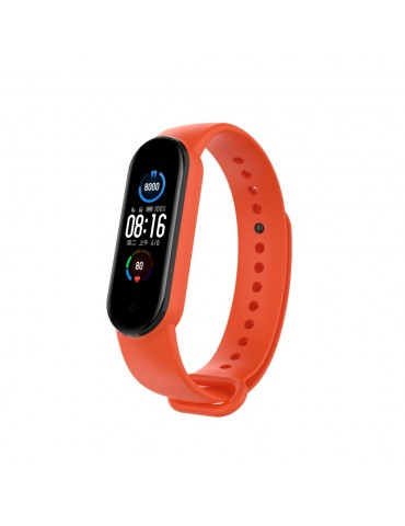 Λουράκι σιλικόνης για το Xiaomi Mi Band 5/6 - Orange
