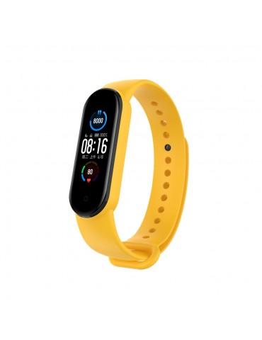 Λουράκι σιλικόνης για το Xiaomi Mi Band 5/6 - Yellow