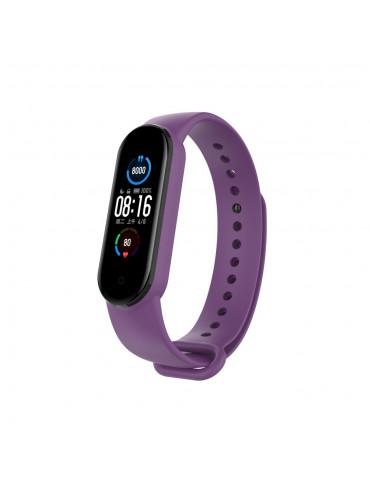Λουράκι σιλικόνης για το Xiaomi Mi Band 5/6 - Purple